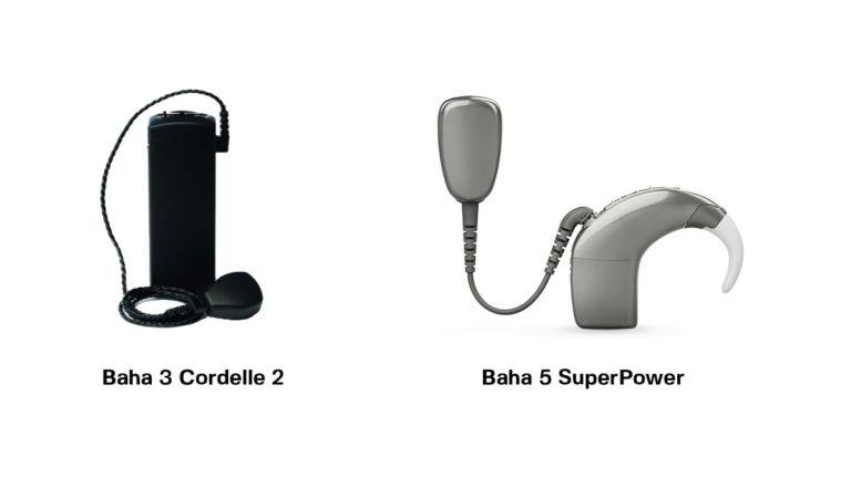 BAHA sluchadlo 2. – srovnání BAHA 3 Cordelle 2 a BAHA 5 SuperPower